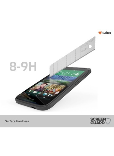 MobilCadde MobilCadde Dafoni Htc Desire 320 Temperli Premium Cam Ekran Koruyucu Renkli